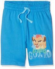 Disney Boys' Blue Jersey Cotton Shorts Lion Guard Print Size 4 years