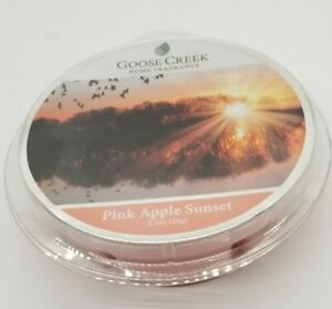 Goose Creek Candle - Wax Cube Melts PINK APPLE SUNSET SCENT 2.1 oz NEW PACK