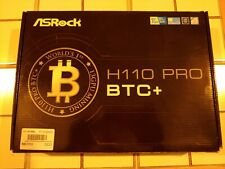 🔥🔥 BRAND NEW ASRock H110 Pro BTC+ 13 Slot Intel Mining MotherBoard