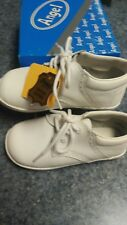 Angel Brand white leather walking shoe size 7