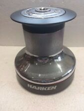HARKEN 48 Winch Drum 48.2 speed plain top. Drum ONLY & top plate with star drive