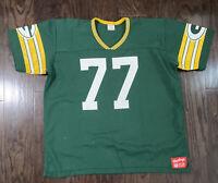 Vintage GREEN BAY PACKERS NFL Football #77 Tony Mandarich Jersey Mens Sz XXL Vtg