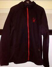 Spyder Constant Full Zip Fleece Lined Sweater Jacket Men XL.Preowned..Read Desc.