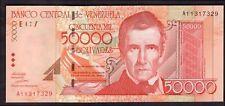 VENEZUELA 50,000 BOLIVARES, A11317329 24 AGOSTO 1998, quasi FIOR.