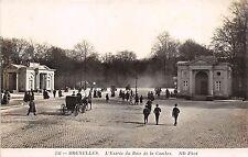 B4078 Belgium Bruxelles Entree du Bois de la Cambre front/back scan