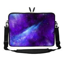"""17.3"""" Laptop Computer Sleeve Case Bag w Hidden Handle & Shoulder Strap 3129"""
