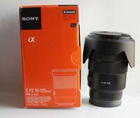 Sony E PZ 18-105 mm F4 G OSS Lens for Sony SELP18105G