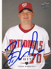 BILL WHITE WASHINGTON NATIONALS SIGNED AUTOGRAPHED 2008 UPPER DECK BASEBALL CARD