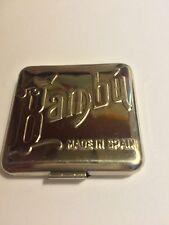 Vintage New BAMBU ALCOY Made In Spain Rolling Paper Holder