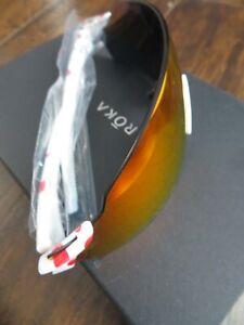 ROKA SL-1X Sunglasses Climber Edition Polka Dot KOM Carbon Fire Sports Cycling