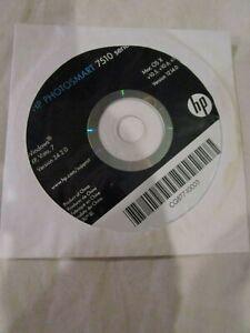 HP Photosmart 7510 Series CD Windows XP Vista 7 Version 24.2.0 MAC OS X v10.5 10