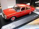 MERCEDES BENZ 200 D Diesel E Klasse W123 Limousine rot red IXO White Box 1:43