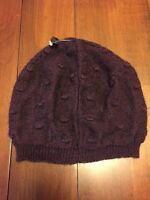 NEW TARNISH Beanie Knit Hat Made in Italy