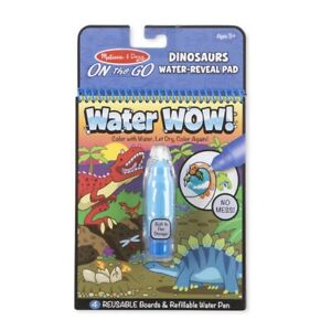 Melissa & Doug - On the Go - Water Wow! Dinosaurs Water-Reveal Pad