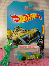 VOLTAGE SPIKE #203☆Yellow/Teal;5sp green☆X-RAYCERS☆2017 Hot Wheels☆Case J