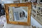Großer Bilderrahmen Gemälde Foto Barock Rahmen Holz Gold 64x54 cm Antik Look NEU