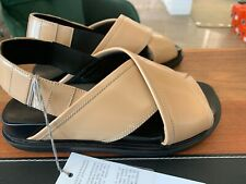 MARNI ANATOMIC CRISS-CROSS FUSSBETT CALFSKIN SANDALS SANDALEN SCHUHE SHOES 39