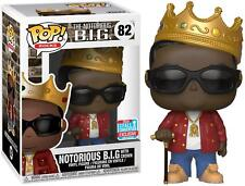 Biggie Smalls With Crown Notorious BIG Funko Pop! Vinyl NYCC 2018 IN STOCK