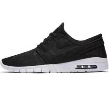 Hombres Nike Stefan Janoski Máx zapatos talla 9 blanco y negro 631303 022