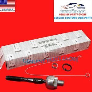 GENUINE OEM INFINITI 07-10 G35 G37 AWD INNER STEERING TIE ROD END D8E21-JK61A