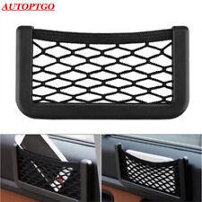 Car Seat Side Back Storage Net Bags String Mesh Bag Pocket Cage Holder For Phone