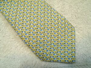 Vineyard Vines Lobster Buoys Pattern Boys' Necktie NWT $49.50 Made in USA Yellow