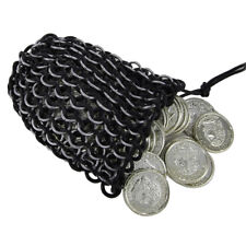 Dark Ages Tempt Fate Chainmail Handmade 14G Dice Bag