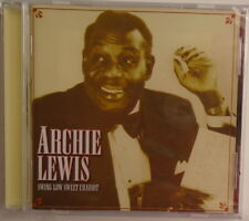 ARCHIE LEWIS - Swing Low Sweet Chariot - BRAND NEW