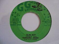 "New ListingBarbara Jones Slim Boy Gg Reggae 7"" Hear"