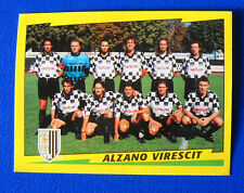 FIGURINA CALCIATORI PANINI 1996-97 - N. 560 - SQUADRA - ALZANO VIRESCIT - new