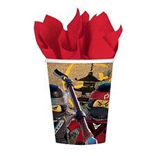 Amscan 581716 LEGO Ninjago 266 ml tasses