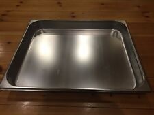 """Large 25 1/2"""" x 21"""" x2 1/2"""" deep stainless steel tray baking commercial oven pan"""
