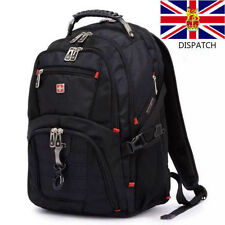 "16"" Original Waterproof Swiss Gear Men Travel Bags Macbook Laptop Hike Backpack"