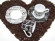 Espressotassen Set wahlweise als 2er Set 4 teilig  oder als 12 teiliges 6er Set