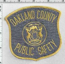 Oakland County Public Safety (Michigan) 1st Issue Uniform TakeOff Shoulder Patch