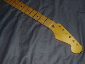 FAT C RELIC Allparts Maple Neck will fit Stratocaster mjt SRVusa vintage body