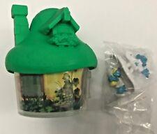 SMURFS The Lost Village McDonalds Happy Meal Toy 2017 Painter Smurf & Smurfette