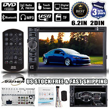 "6.2"" 2 Din Stereo Car CD DVD Radio Bluetooth MP3 TouchScreen for Scion tC xB xD"