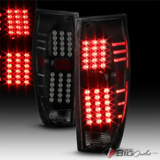 For 02-06 Avalanche 1500/2500 Black Smoked LED Tail Lights w/ LED Signal