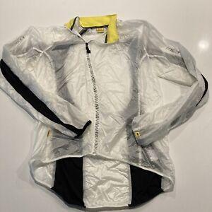 Mavic Altium Lightweight Wind Protect Cycling Jersey Shirt Jacket Men's Sz L