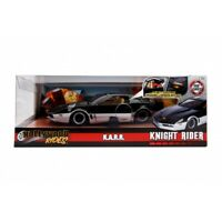 HOLLYWOOD RIDES 1:24 KNIGHT RIDER K.A.R.R WITH WORKING LIGHTS