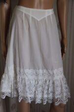 RARE  jupon nylon fin transparent  vintage unterkleid full slip REF1526