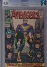 Avengers #30 CGC 4.0 Don Heck/Roy Thomas/Jack Kirby 1966 Marvel FREE USA SHIP