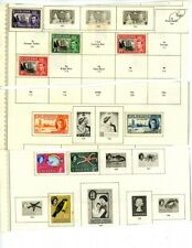 St. Helena, St. Lucia outstanding selection of 46 Mh/Used Stamps