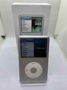 Apple iPod Classic 7. Generation Silver Gray 120GB Used Good Condition #6