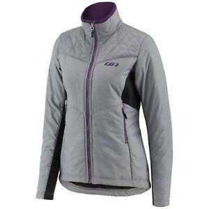 Louis Garneau Women's Haven Hybrid Jacket, Heather Gray, Small #1032230