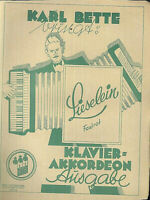 """Karl Bette : """" Lieselein """" ~ Foxtrott"""