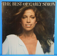THE BEST OF CARLY SIMON LP 1975 ORIGINAL PRESS GREAT CONDITION! VG++/VG+!!A