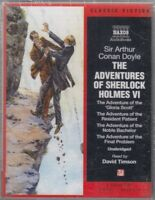 Adventures Of Sherlock Holmes VI Arthur Conan Doyle 4 Cassette Audio Book NEW*