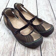 J-41 Eclipse Mary Jane Comfort Slip On Flats Shoes Womens 8.5 Hiking Walking